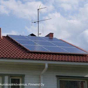 1-vaiheinen aurinkosähkövalmius Finnwind