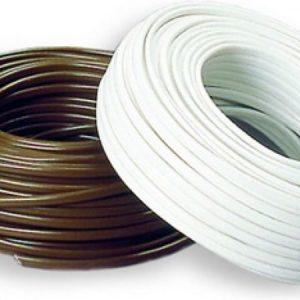 Asennuskaapeli Sunwind 2 x 10 mm² 50 m valkoinen