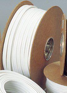 Asennuskaapeli Sunwind 2X6mm 50 m valkoinen