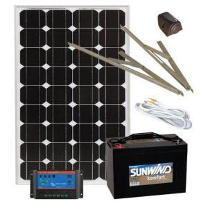 Aurinkoenergiapaketti Sunwind Basic