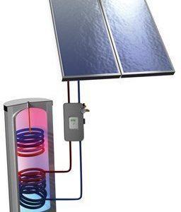 Aurinkolämpöpaketti Ruukki 4 m² + käyttövesivaraaja 300 l
