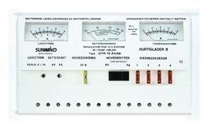 Aurinkopaneelin lataussäädin Sunwind 16AVAB analoginen