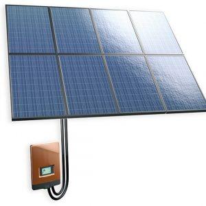 Aurinkosähköpaketti Ruukki 2 kW