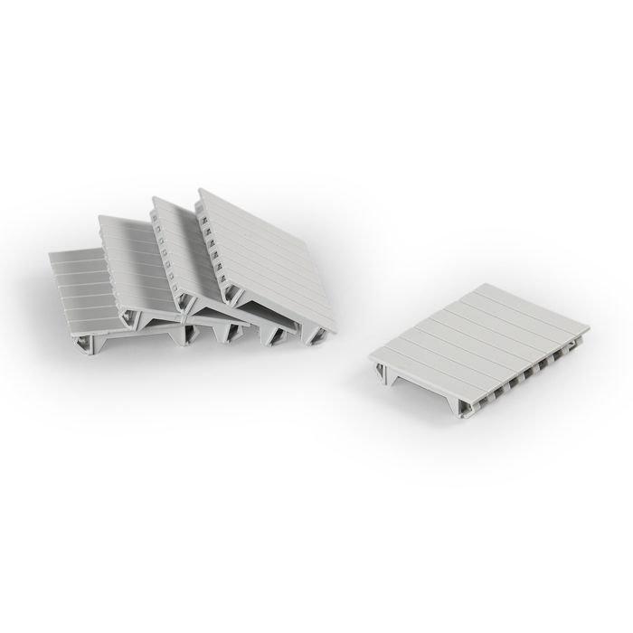 DIN-peitemuovi (sis.5kpl) ELL 72.50
