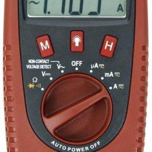 Digitaalinen yleismittari Testboy® 2200 kontaktittomalla jännitteenilmaisimella 400 V/4 A