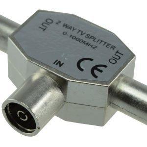 Electrogear Metallinen Antennijakopistike N/2u