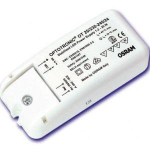 Elektroninen liitäntälaite OPTOTRONIC OT 20/230-240/24 LED-moduuleille