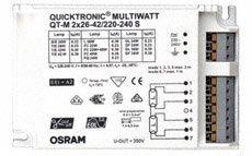 Elektroninen liitäntälaite QT-M 2X26-42/220-240 S
