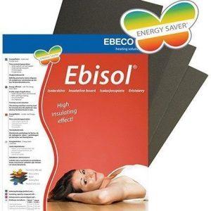 Eristelevy Ebisol 3 x 500 x 1200 mm 6 m2/pak