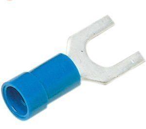 Eristetty haarukkakaapelikenkä A2553G sininen 1