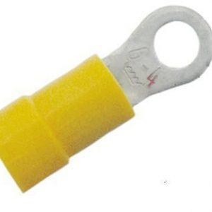 Eristetty rengaskaapelikenkä A4665R keltainen 4-6 M6