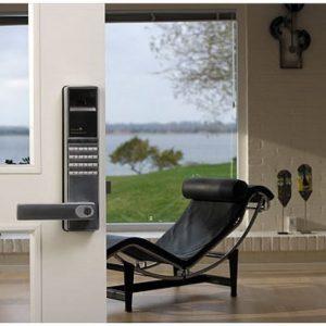 HighTech-lukko Kotihälytin.fi EH-LP-808A sormenjälkitunnistimella varustettu