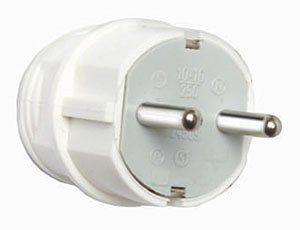 IP-20 pistotulppa valkoinen