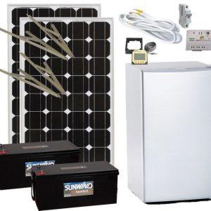 Jääkaappipaketti Sunwind 12 V + jääkaappi