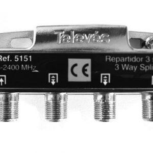 Jako kolmeen 7-9 dB 5-2400 MH T5151