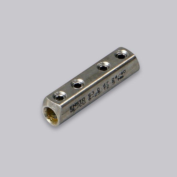 Jatkosholkki ruuv. Al/Cu 6-25 mm2 SJ 0.47 AL/Cu 6-25 mm2