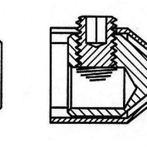 Kaapelikenkäpakkaus AL1 4 kpl Selcast