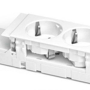 Kanavakaluste Ductel Avec S45-3 2-osainen valkoinen