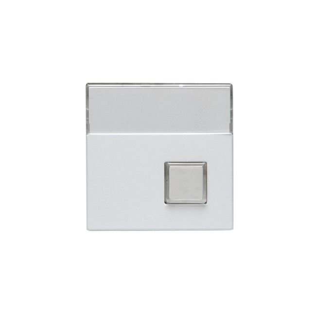 Keskiöosa 1-nappinen Impressivo valkoinen