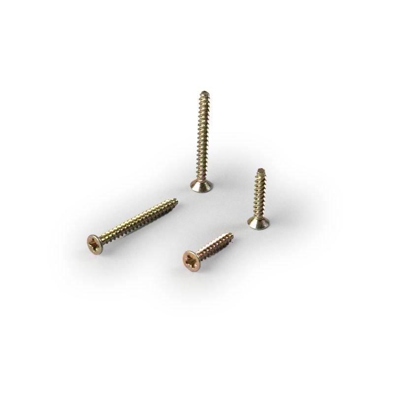 Kojeen kiinnitysruuvit PLP4.100 3x16mm (sis.100kpl)