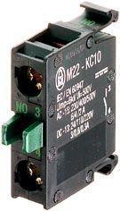 Kosketinelementti M22-K10 1s etulevyasennus