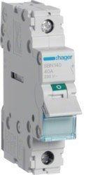 Kuorman kytkinvipuSBN140 0-1 1N 40A 230VAC DINHager
