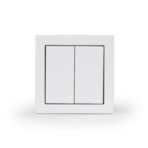 Kytkin Impressivo 5/16A/250V/IP44 UPJ 0X valkoinen