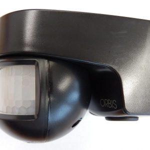Läsnäolotunnistin Orbis ISIMAT 140° IP55 musta