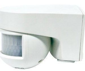 Läsnäolotunnistin Orbis ISIMAT 140° IP55 valkoinen