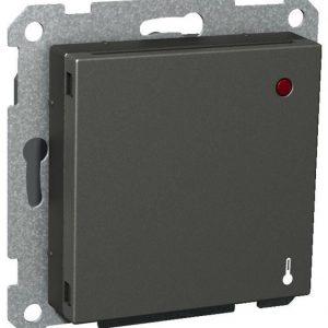 Lattiatermostaatti 5-50C 16A 230V UKR antrasiitti Exxact