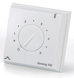 Lattiatermostaatti Devireg 130 +5-+45°C asteikko 1-5