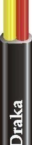 Liitäntäkaapeli p1-rulla Draka AJMY 2X1