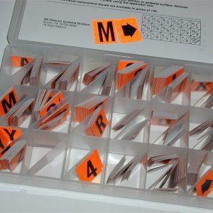 Merkkilajitelma A-Z 0-9 Scotchlite 5005 3M