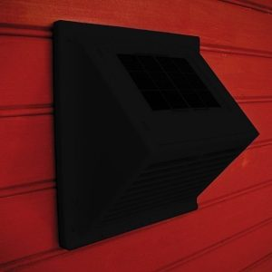 MiniVent-tuuletin Sunwind integroidulla aurinkopaneelilla musta