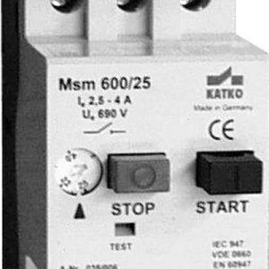 Moottorinsuojakytkin MSM 600/25/2