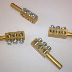 N-haaroitusliitin NIKALE 3-OS 35x8x7 mm (5 kpl)
