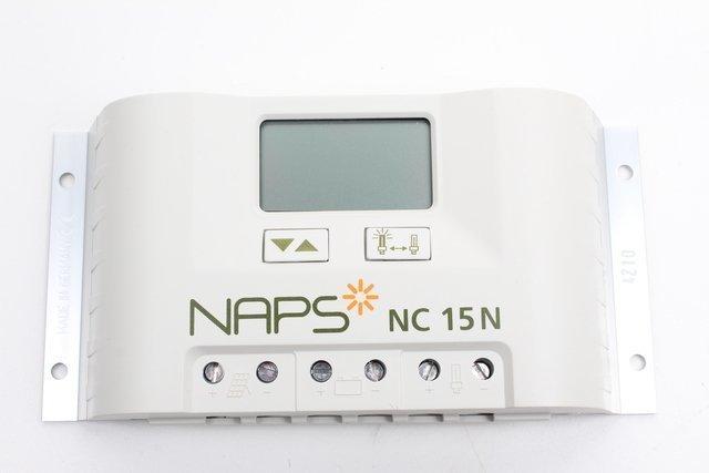 Ohjausyksikkö Naps NC 15N 15 A aurinkosähköjärjestelmälle