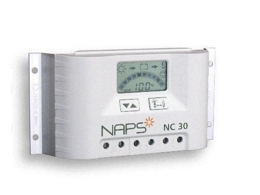 Ohjausyksikkö Naps NC 30N 30 A aurinkosähköjärjestelmälle