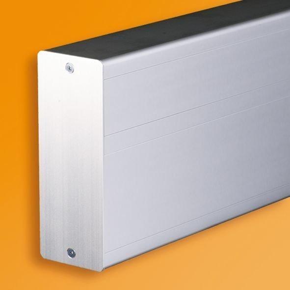 Päätylevy Ductel Twist TBP100-3 valkoinen