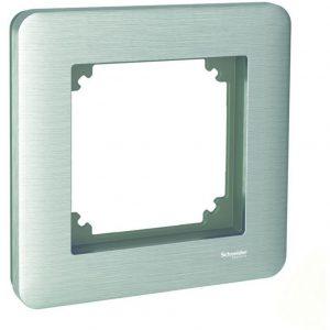 Peitelevy 1-osainen harjattu teräs Exxact Solid