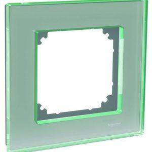 Peitelevy 1-osainen lasi titaani Exxact Solid
