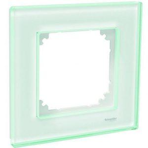 Peitelevy 1-osainen lasi valkoinen Exxact Solid