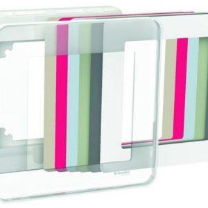 Peitelevy 1-osainen valkoinen Exxact Design