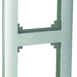 Peitelevy 2-osainen harjattu teräs Exxact Solid