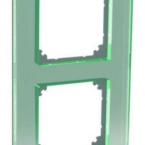 Peitelevy 2-osainen lasi titaani Exxact Solid