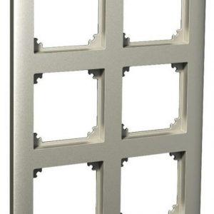 Peitelevy 2x3-matriisikehys metalli Exxact Primo