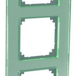 Peitelevy 3-osainen lasi titaani Exxact Solid