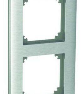 Peitelevy 4-osainen harjattu teräs Exxact Solid