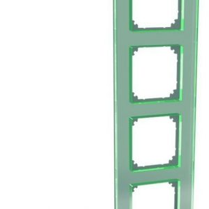 Peitelevy 4-osainen lasi titaani Exxact Solid