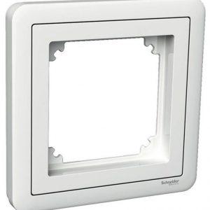 Peitelevy Combi adapterilla 1-osainen valkoinen Exxact
